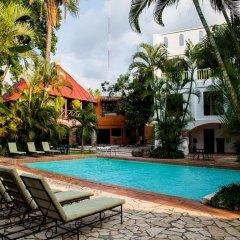 Отель Camino Maya Копан-Руинас бассейн фото 2