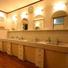 Отель Pension ULLR Хакуба ванная