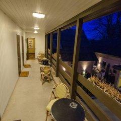 Отель Malling Kro Дания, Орхус - отзывы, цены и фото номеров - забронировать отель Malling Kro онлайн балкон