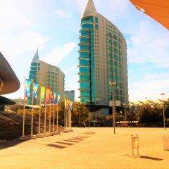 Отель Pantanal Hostels спортивное сооружение