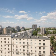 Отель Apartament Swietokrzyska Польша, Варшава - отзывы, цены и фото номеров - забронировать отель Apartament Swietokrzyska онлайн балкон