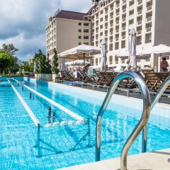 Отель Melia Grand Hermitage - All Inclusive Болгария, Золотые пески - отзывы, цены и фото номеров - забронировать отель Melia Grand Hermitage - All Inclusive онлайн бассейн