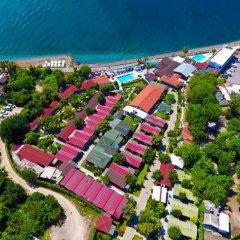 Altinkum Bungalows Турция, Сиде - отзывы, цены и фото номеров - забронировать отель Altinkum Bungalows онлайн пляж
