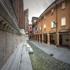 Отель Art Hotel Commercianti Италия, Болонья - отзывы, цены и фото номеров - забронировать отель Art Hotel Commercianti онлайн вид на фасад