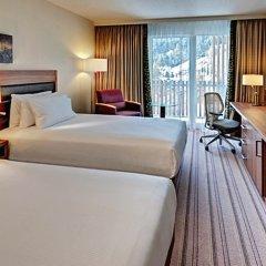 Отель Hilton Garden Inn Davos Швейцария, Давос - отзывы, цены и фото номеров - забронировать отель Hilton Garden Inn Davos онлайн комната для гостей фото 2