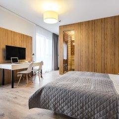 Отель Апарт-отель City Comfort Польша, Варшава - 8 отзывов об отеле, цены и фото номеров - забронировать отель Апарт-отель City Comfort онлайн комната для гостей фото 2