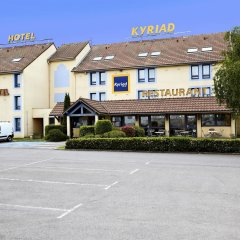 Hotel Kyriad Beauvais Sud парковка