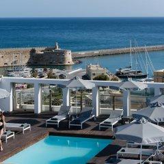 Aquila Atlantis Hotel пляж фото 2