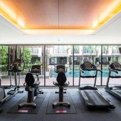 Отель Amanta Hotel & Residence Ratchada Таиланд, Бангкок - отзывы, цены и фото номеров - забронировать отель Amanta Hotel & Residence Ratchada онлайн фитнесс-зал фото 2