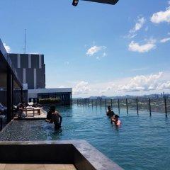 Отель Pattaya Central Sea View Pool Suite Паттайя приотельная территория фото 2
