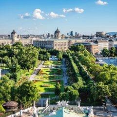 Отель Le Méridien Wien Австрия, Вена - 2 отзыва об отеле, цены и фото номеров - забронировать отель Le Méridien Wien онлайн балкон