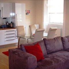 Отель Dreamhouse Apartments Edinburgh West End Великобритания, Эдинбург - отзывы, цены и фото номеров - забронировать отель Dreamhouse Apartments Edinburgh West End онлайн комната для гостей фото 3