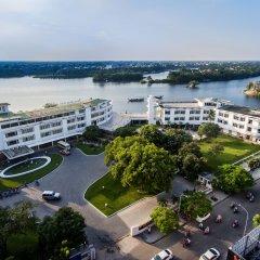 Отель Huong Giang Hotel Resort & Spa Вьетнам, Хюэ - 1 отзыв об отеле, цены и фото номеров - забронировать отель Huong Giang Hotel Resort & Spa онлайн пляж фото 2