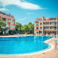 Отель Sunny Fort Болгария, Солнечный берег - отзывы, цены и фото номеров - забронировать отель Sunny Fort онлайн бассейн фото 3