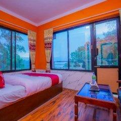 Отель Spot on 430 Hotel Heaven Hill Непал, Нагаркот - отзывы, цены и фото номеров - забронировать отель Spot on 430 Hotel Heaven Hill онлайн комната для гостей