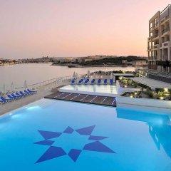 Отель Super Luxury Apartment in Tigne Point, Amazing Ocean Views Мальта, Слима - отзывы, цены и фото номеров - забронировать отель Super Luxury Apartment in Tigne Point, Amazing Ocean Views онлайн бассейн фото 3