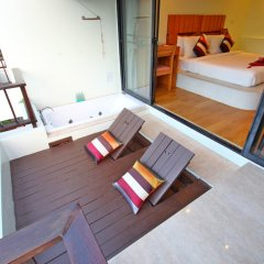 Отель Mimosa Resort & Spa балкон
