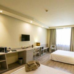 Отель Hostellerie Du Cheval Blanc Аоста удобства в номере
