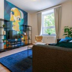 Отель Avantgarde apartments Чехия, Пльзень - отзывы, цены и фото номеров - забронировать отель Avantgarde apartments онлайн комната для гостей фото 5