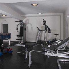 Отель White Peaks Банско фитнесс-зал