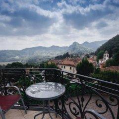 Отель Villa Lussana Италия, Региональный парк Colli Euganei - отзывы, цены и фото номеров - забронировать отель Villa Lussana онлайн балкон