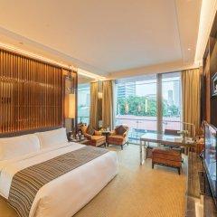 The Fullerton Bay Hotel Singapore комната для гостей