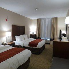 Отель Comfort Suites Columbus West - Hilliard США, Колумбус - отзывы, цены и фото номеров - забронировать отель Comfort Suites Columbus West - Hilliard онлайн комната для гостей фото 2