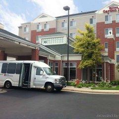 Отель Hilton Garden Inn Bloomington Блумингтон городской автобус