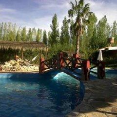 Отель Cabañas Canaán Сан-Рафаэль бассейн