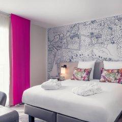 Отель Mercure Paris Tour Eiffel Grenelle 4* Улучшенный номер с различными типами кроватей фото 4