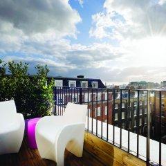 Отель Apex Temple Court Hotel Великобритания, Лондон - отзывы, цены и фото номеров - забронировать отель Apex Temple Court Hotel онлайн балкон