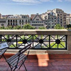 Отель Habitat Apartments Paseo de Gracia Испания, Барселона - отзывы, цены и фото номеров - забронировать отель Habitat Apartments Paseo de Gracia онлайн балкон