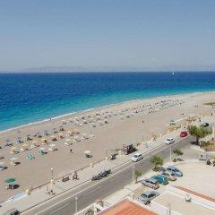 Отель Bellevue Suites Греция, Родос - отзывы, цены и фото номеров - забронировать отель Bellevue Suites онлайн пляж