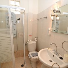 Отель Koukounari Studios Греция, Агистри - отзывы, цены и фото номеров - забронировать отель Koukounari Studios онлайн ванная