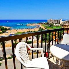 Отель Captain Pier Hotel Кипр, Протарас - отзывы, цены и фото номеров - забронировать отель Captain Pier Hotel онлайн балкон