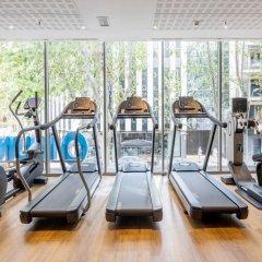 Отель ILUNION Barcelona фитнесс-зал фото 2