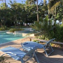 Отель El Nido Mahogany Beach бассейн фото 2