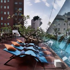 Отель The Myst Dong Khoi бассейн фото 3