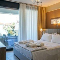 Отель Agnes Deluxe Греция, Пефкохори - отзывы, цены и фото номеров - забронировать отель Agnes Deluxe онлайн комната для гостей фото 2