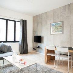 Отель Smartflats City - Châtelain Бельгия, Брюссель - отзывы, цены и фото номеров - забронировать отель Smartflats City - Châtelain онлайн комната для гостей фото 3