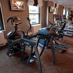 Отель Empire Hotel США, Нью-Йорк - 1 отзыв об отеле, цены и фото номеров - забронировать отель Empire Hotel онлайн фитнесс-зал фото 2