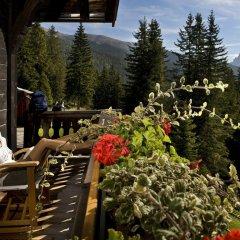 Отель Forestis Dolomites балкон