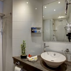 Отель Eden Hotel Швейцария, Женева - отзывы, цены и фото номеров - забронировать отель Eden Hotel онлайн ванная фото 2