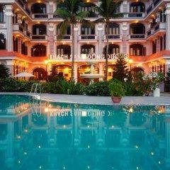 Отель Hoi An Beach Resort бассейн фото 2