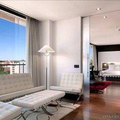 Отель Hilton Madrid Airport Мадрид фитнесс-зал фото 2