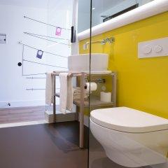 Отель Qbic Hotel Wtc Amsterdam Нидерланды, Амстердам - 6 отзывов об отеле, цены и фото номеров - забронировать отель Qbic Hotel Wtc Amsterdam онлайн ванная