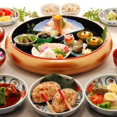Отель Nisshokan Bettei Koyotei Нагасаки питание