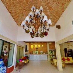 Отель Las Golondrinas Плая-дель-Кармен интерьер отеля
