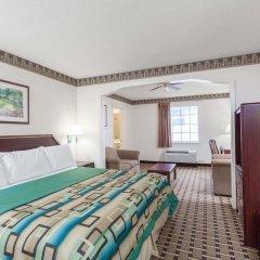Отель Days Inn & Suites by Wyndham Huntsville США, Хантсвил - отзывы, цены и фото номеров - забронировать отель Days Inn & Suites by Wyndham Huntsville онлайн комната для гостей фото 3