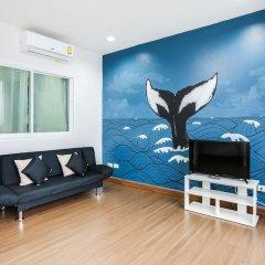 Отель KM Condo Seaside фитнесс-зал